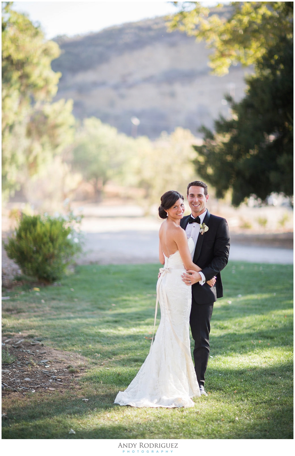 Triunfo Creek Vineyards Wedding Portrait