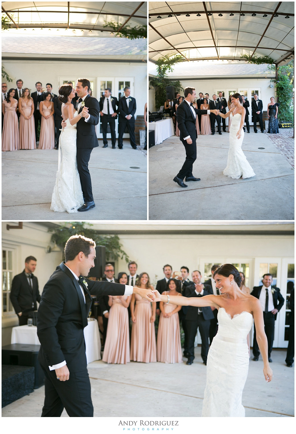 First Dance at Triunfo Creek Vineyards