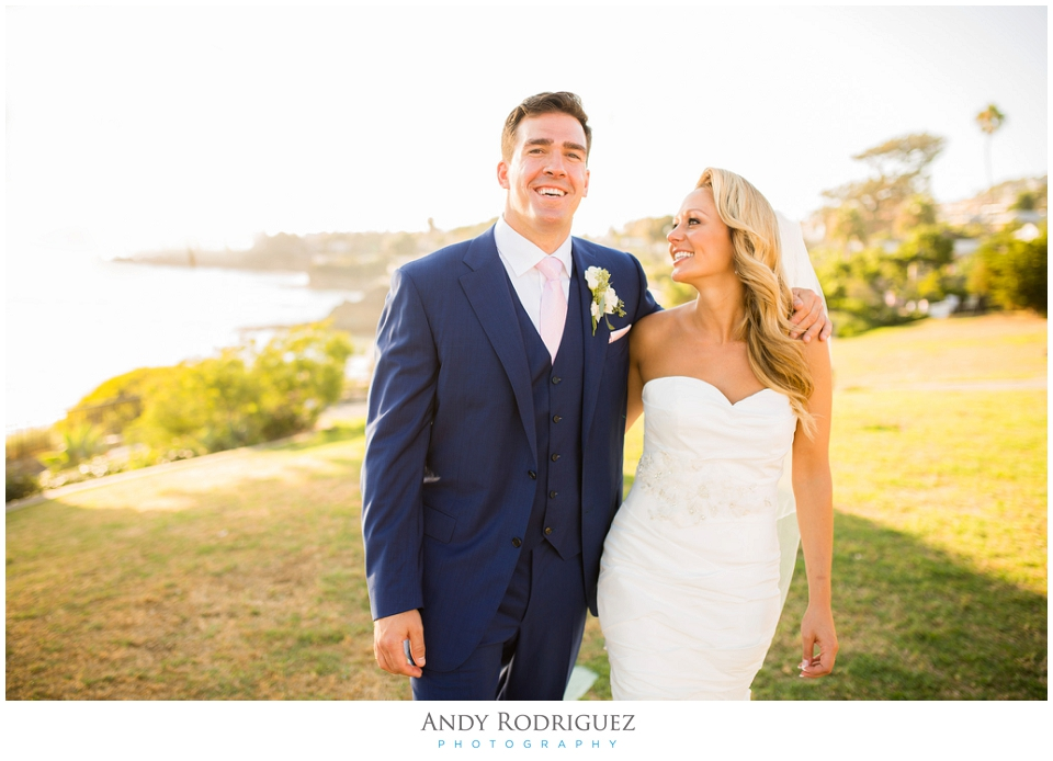 Laguna Beach Wedding Portrait