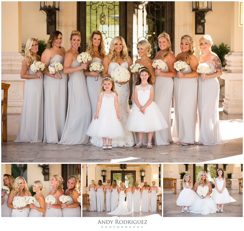 Bridesmaids at Trump National Golf Course