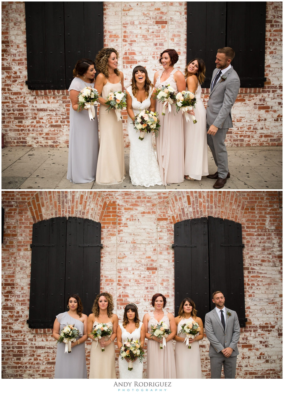 Bridesmaids at Carondelet house