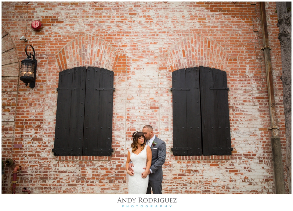 Carondelet House Wedding Portrait