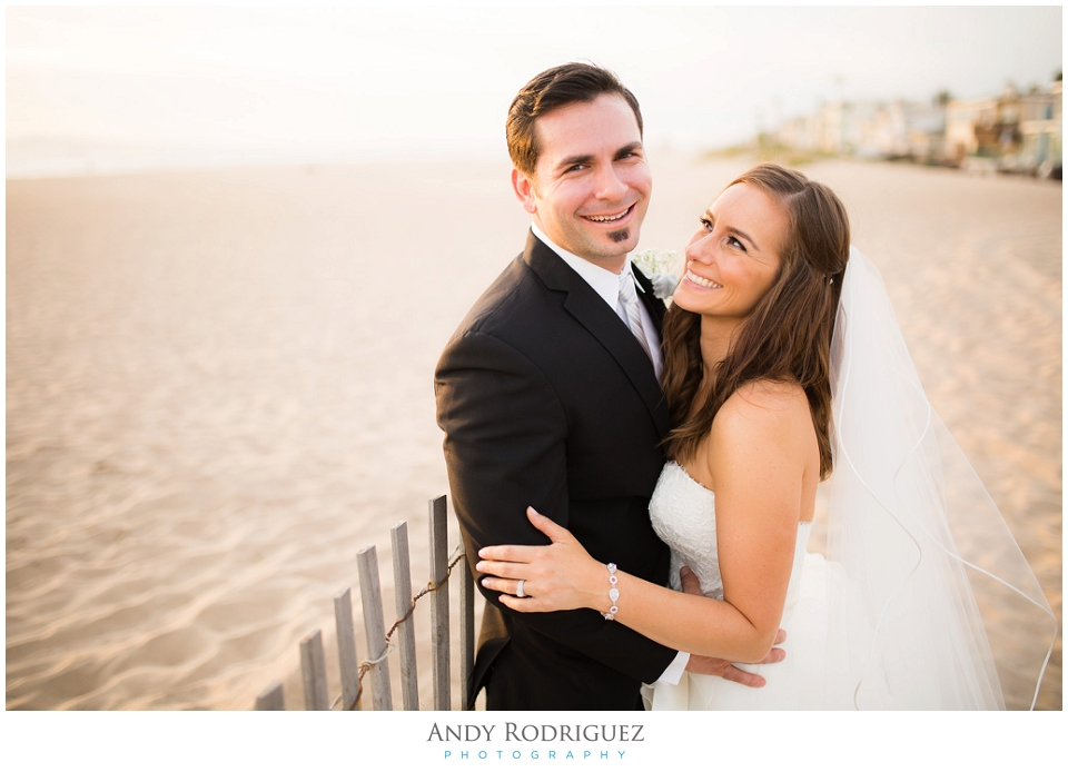 Orange County Wedding Portrait - Bride and Groom