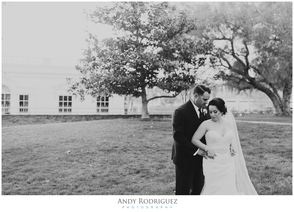 Wedding Portrait at Nixon Library