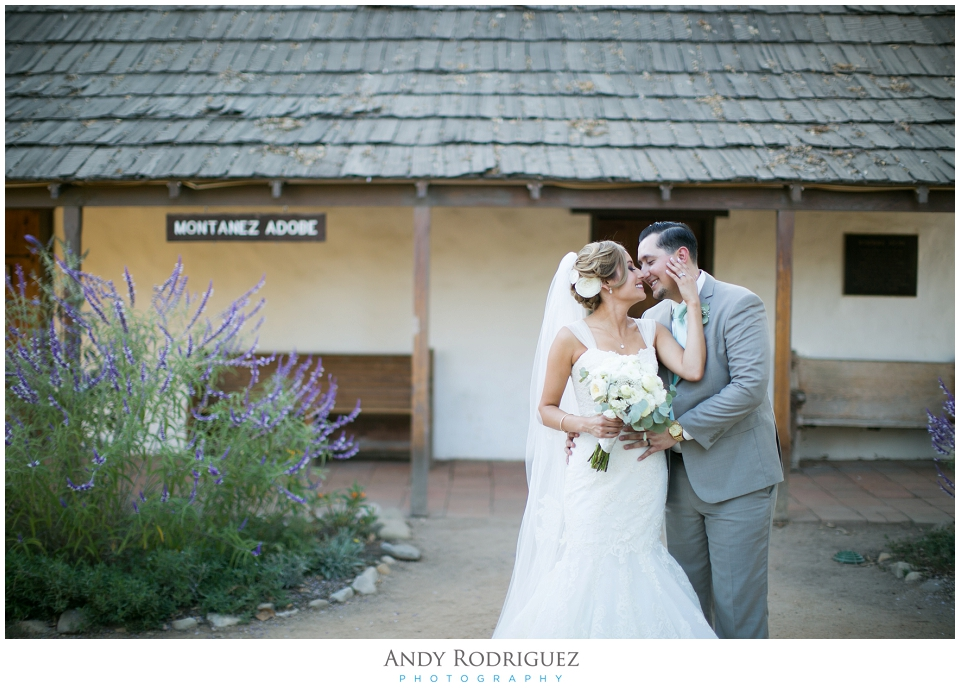 Los Rios District Wedding Portrait