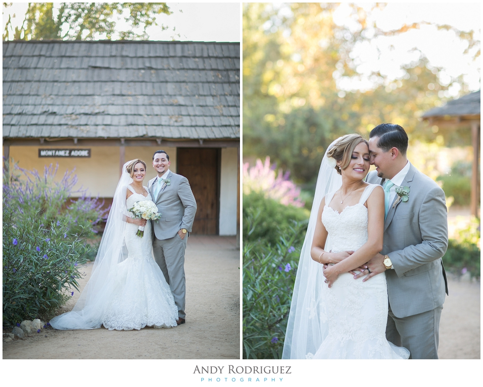 Bride and Groom Wedding Portrait - Los Rios District