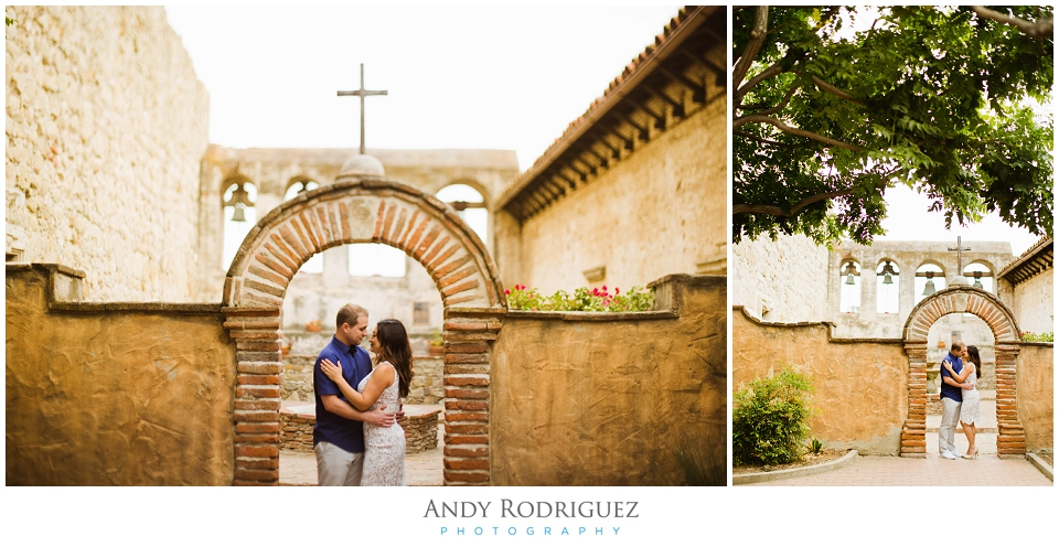 San Juan Capistrano Mission Engagement Photo