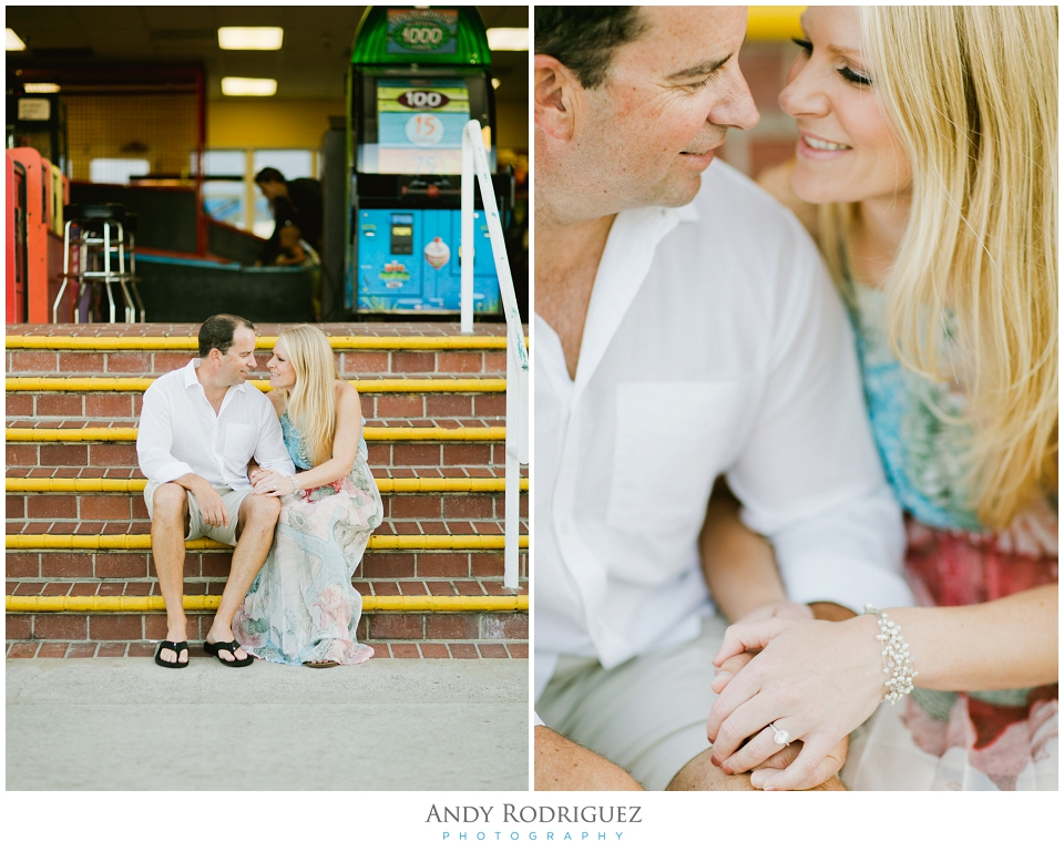 Balboa Fun Zone Engagement Session
