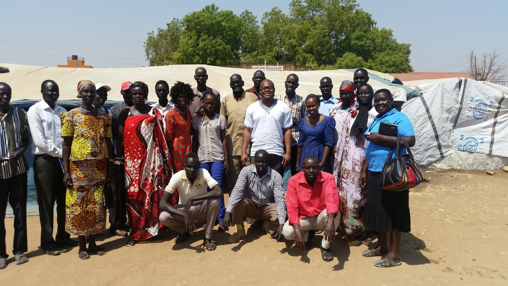Elders and Leaders of the Mahad IDP Camp, Juba.