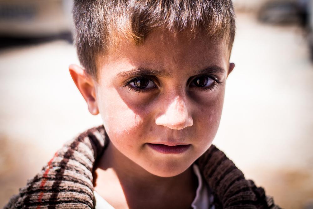 Zaatari child