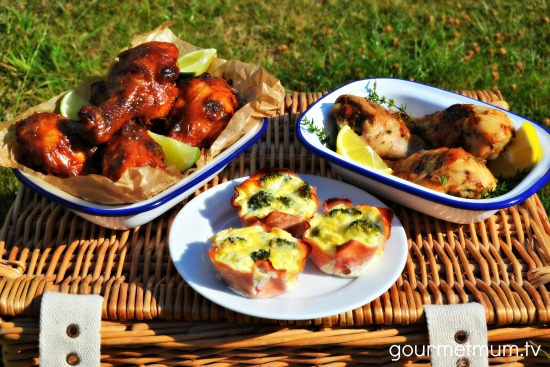 Healthy Picnic Ideas Chicken Drumsticks Mini Quiches.jpg