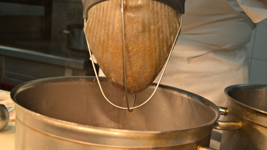 Marco Turkey Masterclass Sieve the gravy.jpg
