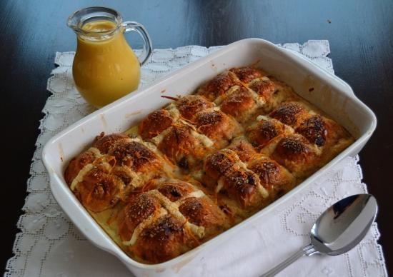 Hot Cross Bun Bread and Butter Pudding.JPG