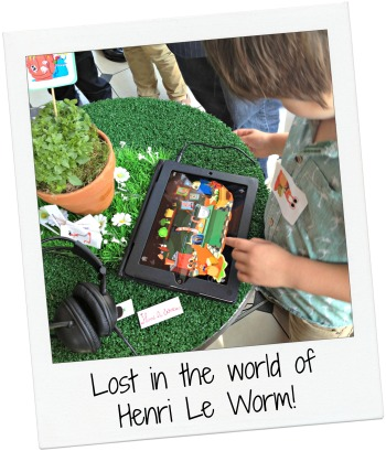 Henri Le Worm Launch Joshua on iPad.jpg