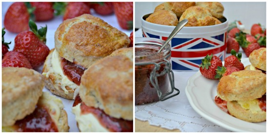 Scones with Strawberry and Basil Jam Collage.jpg