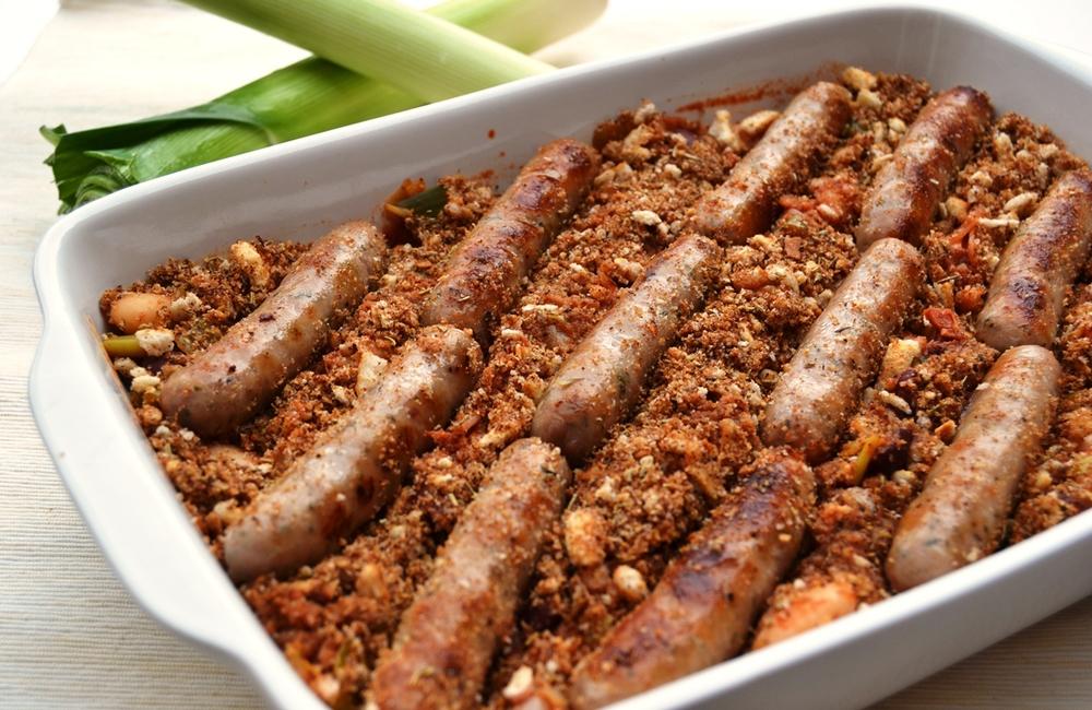 Sausage Leek and Chorizo Cassolet.jpg