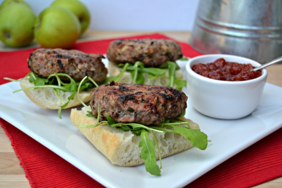 Pork Apple Cheddar and Chive Burgers.JPG