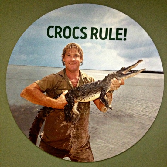 Crocs rule and Steve rules too.