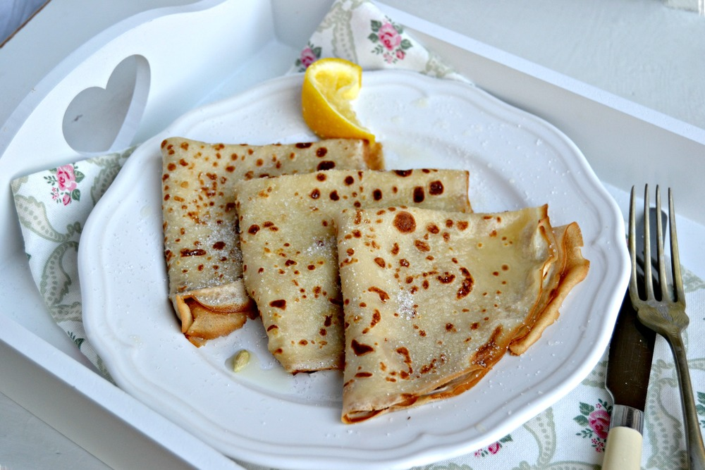 Crepes - proper French style pancakes. Chic, sweet and delicate.