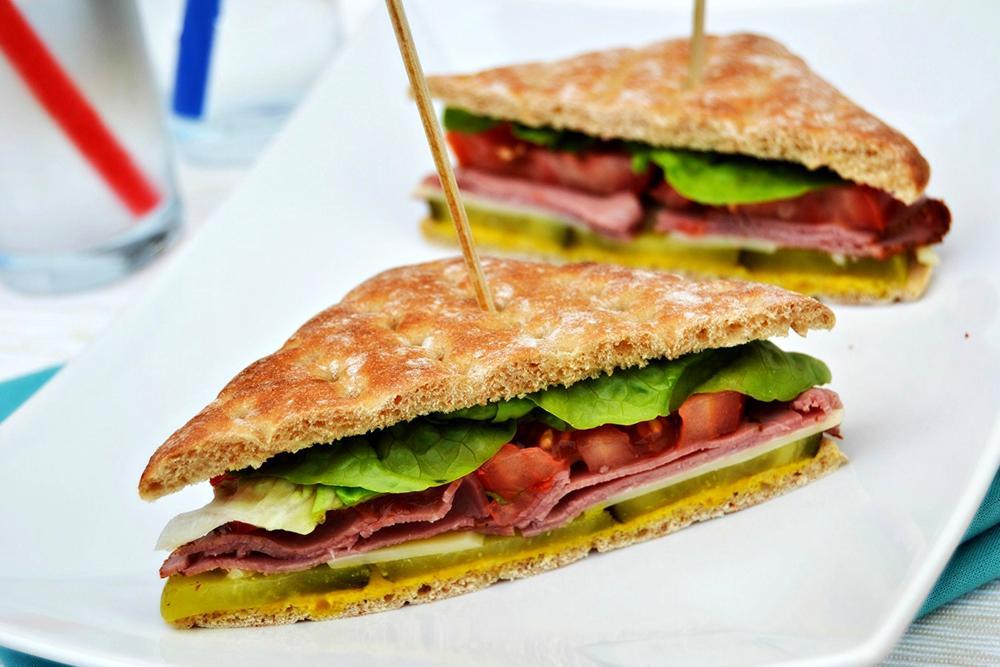 Pastrami Salad Sandwich