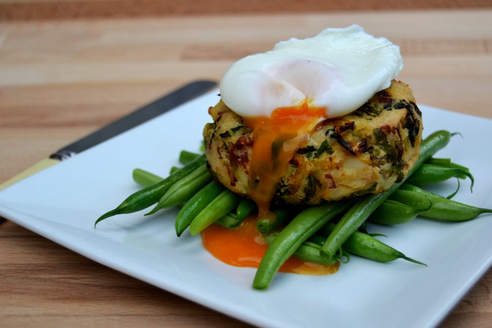 Baked bubble and squeak