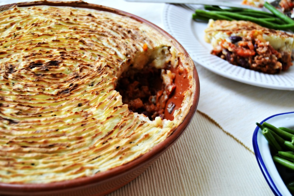 chilli con cottage pie