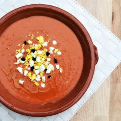 Easy Salmorejo - Chilled Spanish Soup — Gourmet Mum