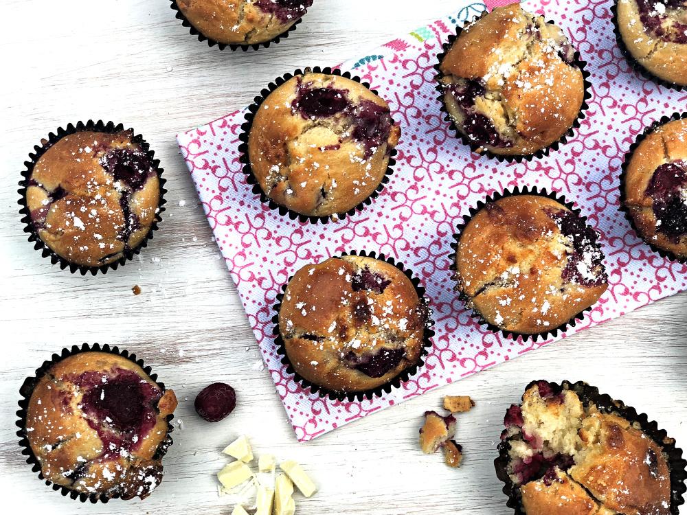 Raspberry White Chocolate Muffins Flatlay.jpg