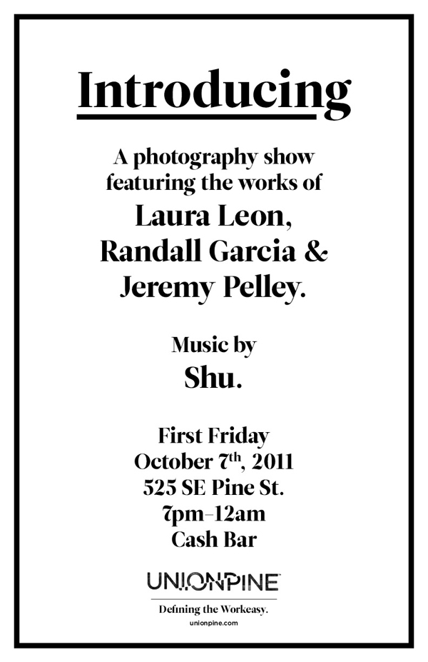 Our FIRST First Friday show!