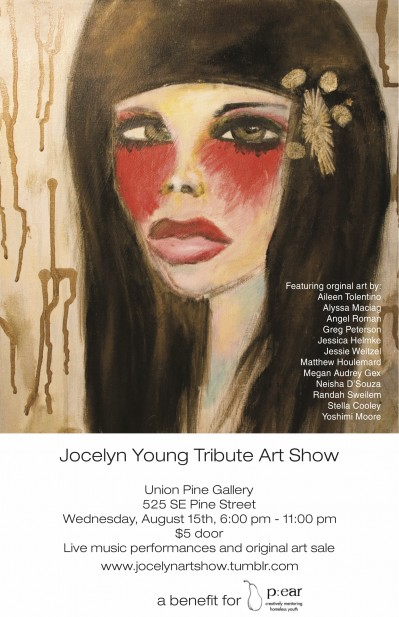 Jocelyn Young Tribute Art Show For P:ear