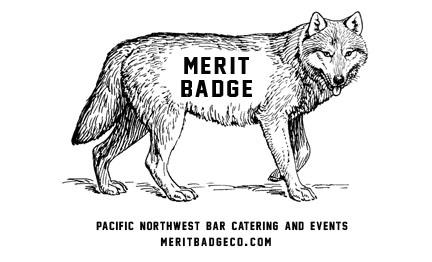 Merit Badge is filling a great hole in the scene by offering cocktail & bar catering services throughout the Pacific Northwest. Serving gatherings of a half dozen to in the thousands, Heather Hawksford and Matt Mount work with clients from the beginning, starting with a cocktail consultation, to create the perfect menu and bar set-up for any type of event. Come chat with them at Give Good Gift about your holiday party, wedding, or Off Site meeting, or their services in event planning, consulting and private cocktail classes!