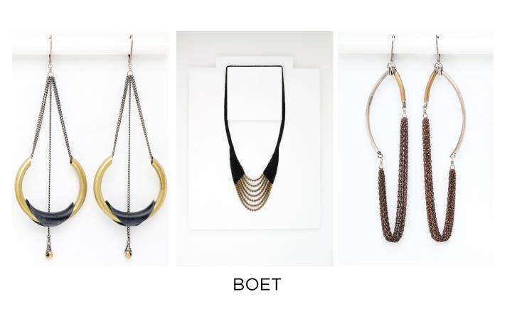 Another of the wonderful finds at Give  Good Gift  will be the special creations by Emily Bixler,  BOET.