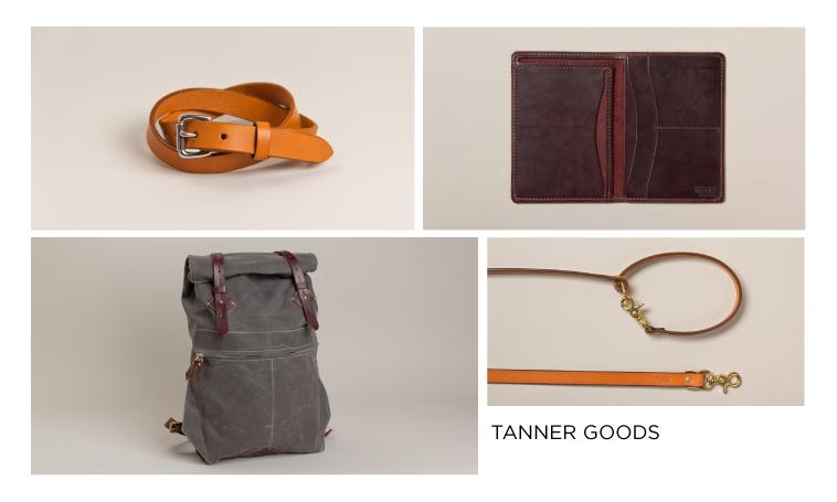 Give the gift of industrious, premium quality leather and waxed canvas goods this holiday season from Portland tannery and retailer, Tanner Goods. Offering the best belt they'll ever own, their go-to bag, their trusted wallet, and even necessities for our four legged friends, these supremely designed and built staples will be enjoyed for many holiday seasons to come. Come select the gift they'll love every day from Tanner Goods, at Give Good Gift Dec 7 & 8!