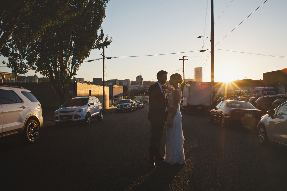 City view wedding