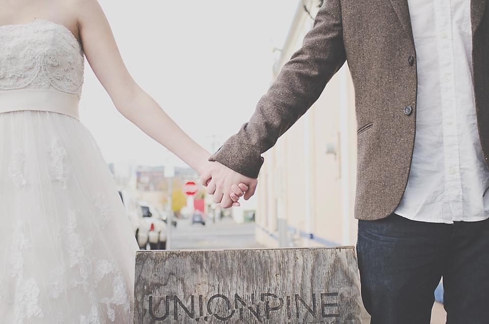 Union/Pine Portland City wedding Kelsey + Cary by  Jeanie Francis
