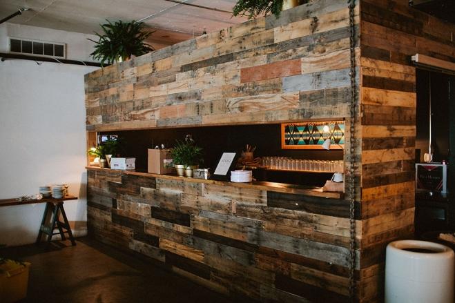 Wood bar Union/Pine photo by  Jamie Jones