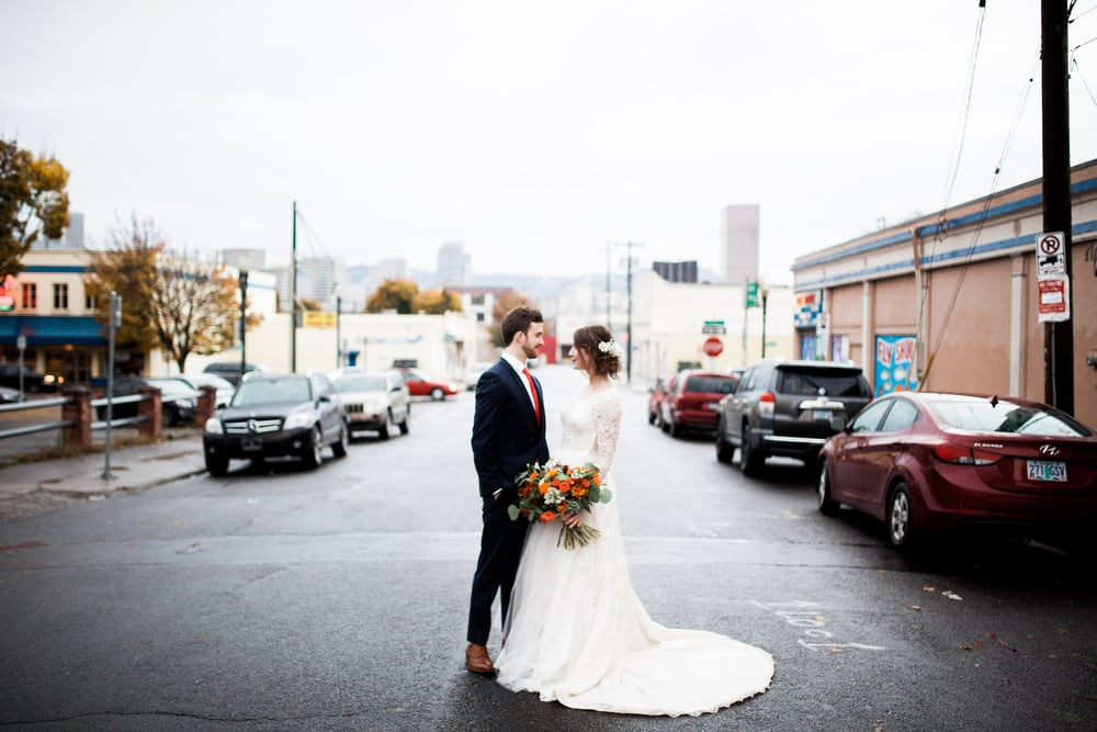 Portland City Wedding