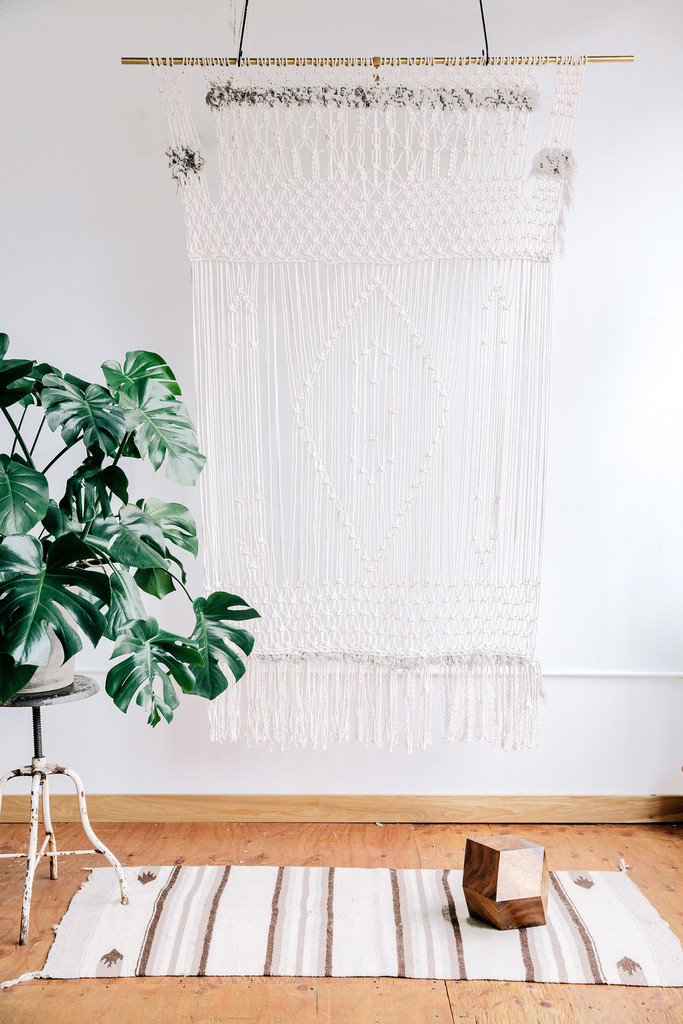 Macrame Wall Hanging by Emily Katz