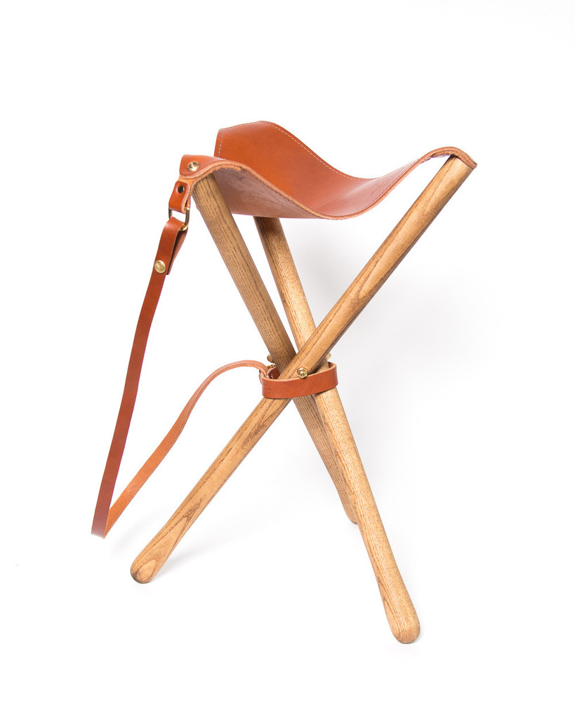 Camp Stool by Wood & Faulk