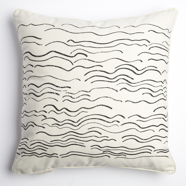 Wave Pillow by Nell & Mary