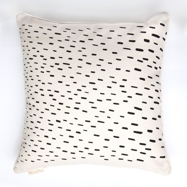 Rain Pillow by Nell & Mary