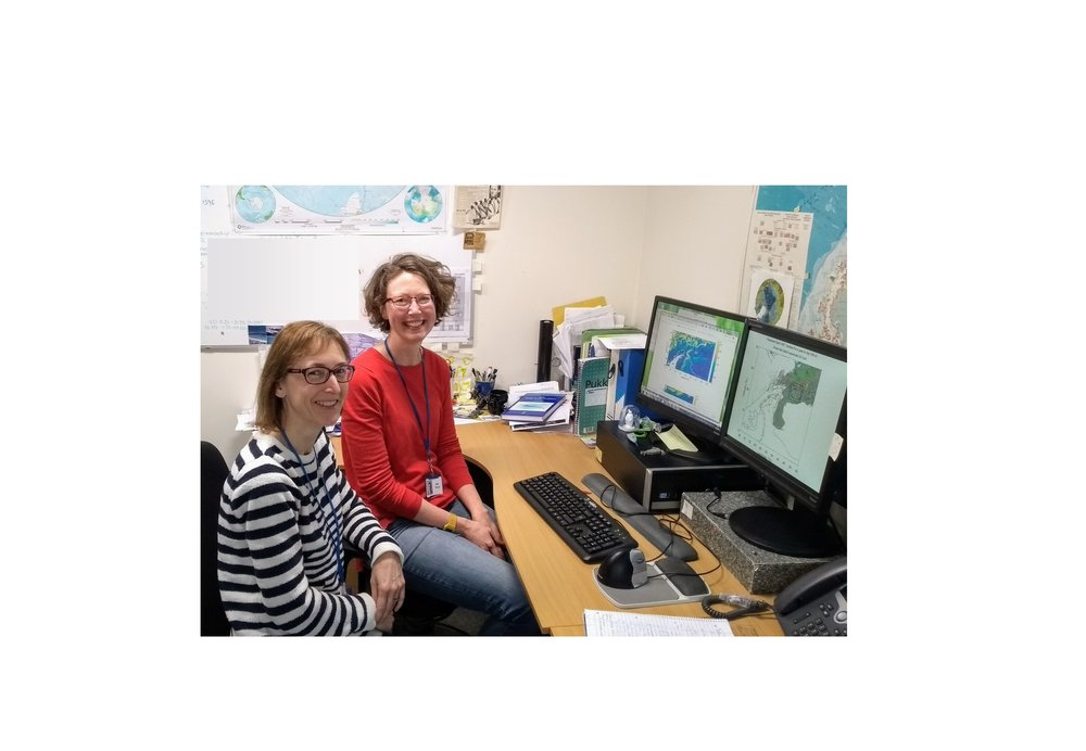 How many model krill does it take to examine the movement of krill in the South Orkney Islands region?The answer, at least in our model study, is a lot – we simulated the movement of over 21 million krill for this project. Image: Sally Thorpe, Emma Young, British Antarctic Survey