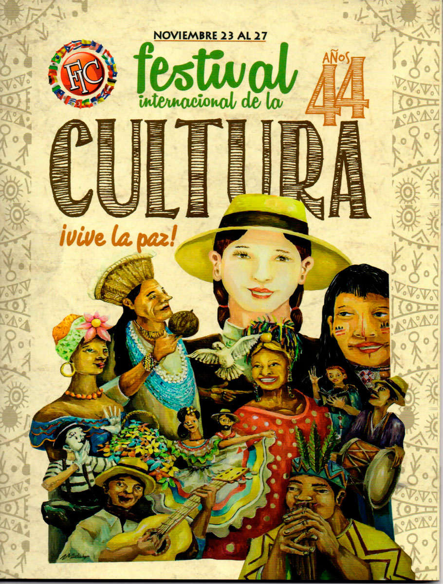 FESTIVAL INTERNACIONAL DE LA CULTURA 44 AÑOS - TUNJA BOYACÁ - 2016