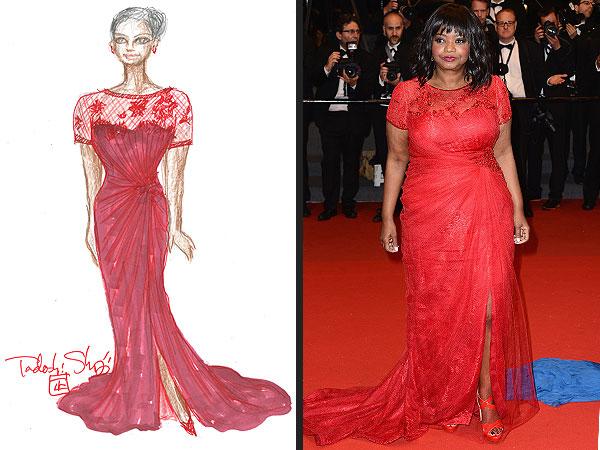 KIRMIZI Valentino - gerçek bir bayan seçimi
