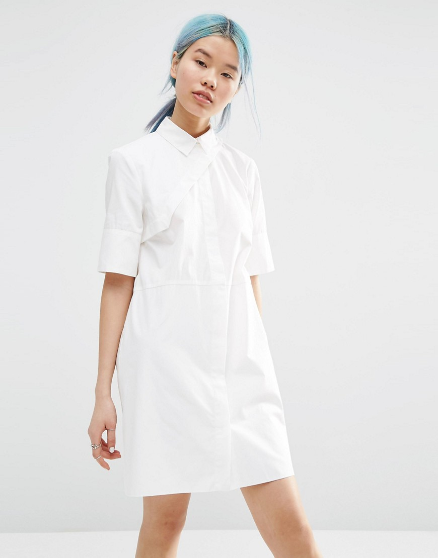 ASOS White Shirt Dress-  Asos  ($89)