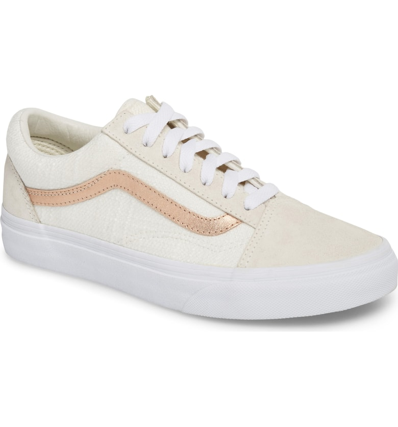 VANS Old Skool Sneaker: $42.90 (After sale: $64.95) - I love that Vans became not-just for the skater crowd, but a true cool-girl staple for women and men. It's like the modern version my pink