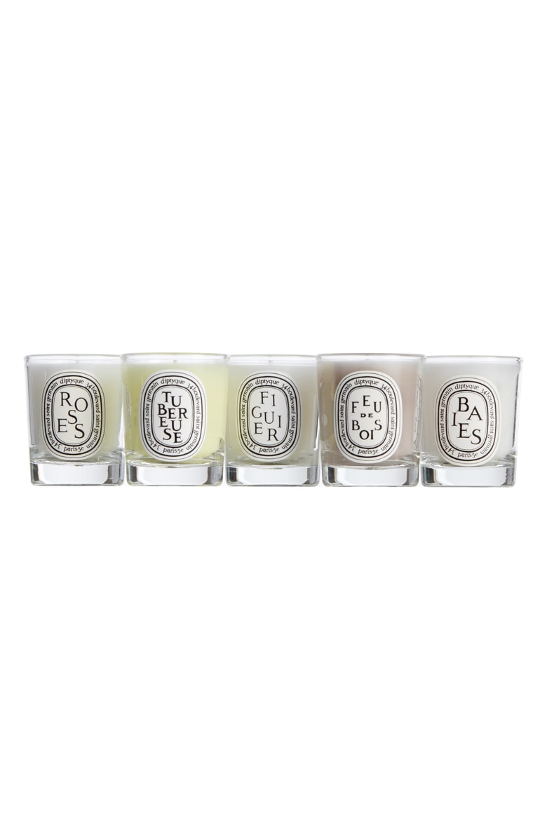 Diptyque Mini Candle Set: $55 ($75 value) - This deal is the true reason I began stanning (linked that to the Urban Dictionary definition because there are sweet moms reading this) this sale in the first place. I put these in our bathroom, on my nightstand, just about anywhere in our apartment. They are small with a big impact, the scent will still fill any room. Don't forget to de-wax them when you're done! They make the perfect holders for Q-tips, earrings, or even a holder for dipping sauces, when everything else is in boxes and you've got sweet potato fries in the oven. SO I'VE HEARD!They also make perfect gifts, but I'm feeling stingy this year so sorry friends! This one's for me.