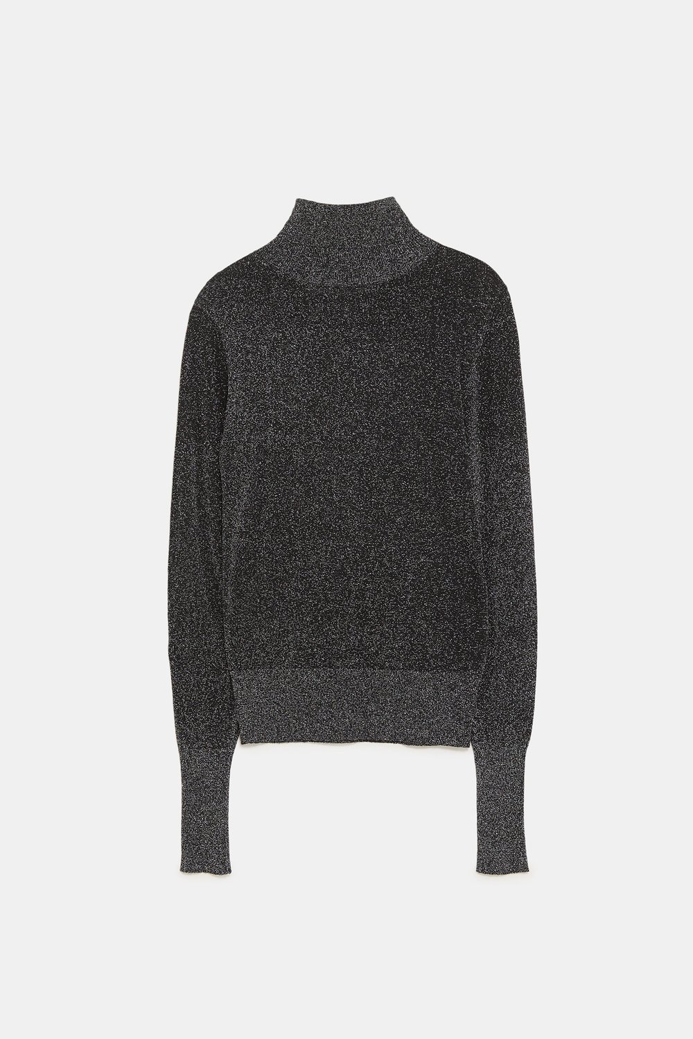 Zara Metallic Turtleneck