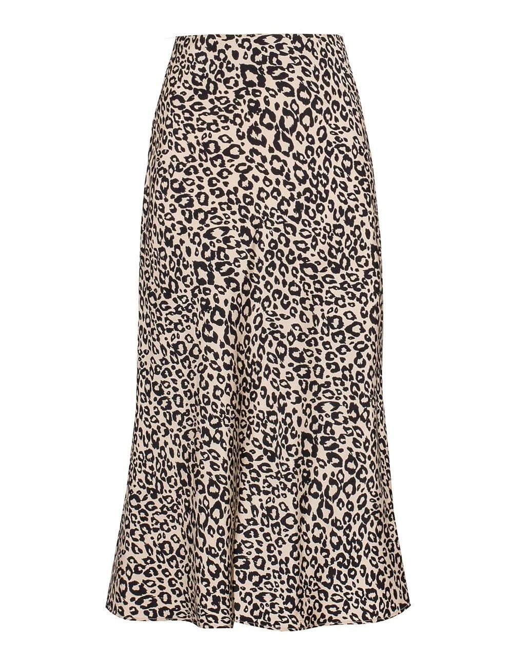 Pixie Market Silk Skirt