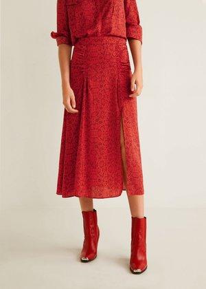 6af0545576 ... Mango Snake Print Skirt ...